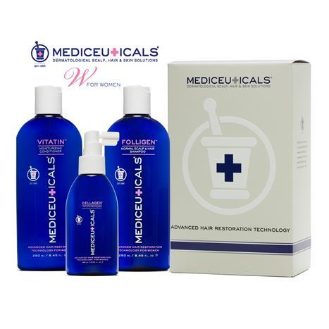 Hair Restoration Kit Normal Women 3 Pc 250  Ml
