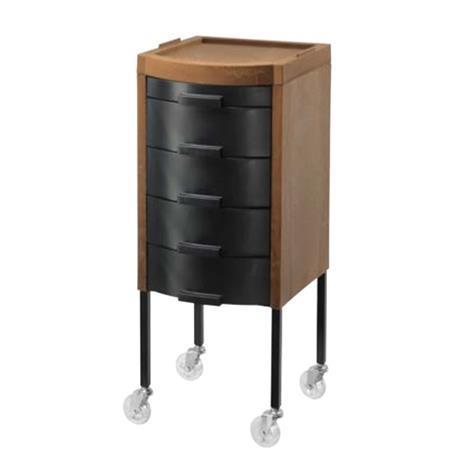Services Trolley ECO Speedy Wheels Black Drawers