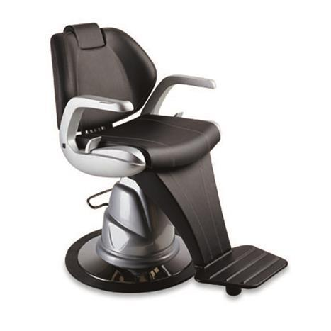Morpheus Barber Chair Hydraulic SILVER